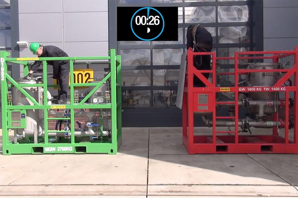 comparison DFC24 and competitor