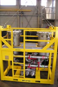 duplex filter unit