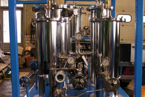 Industrial process filtration