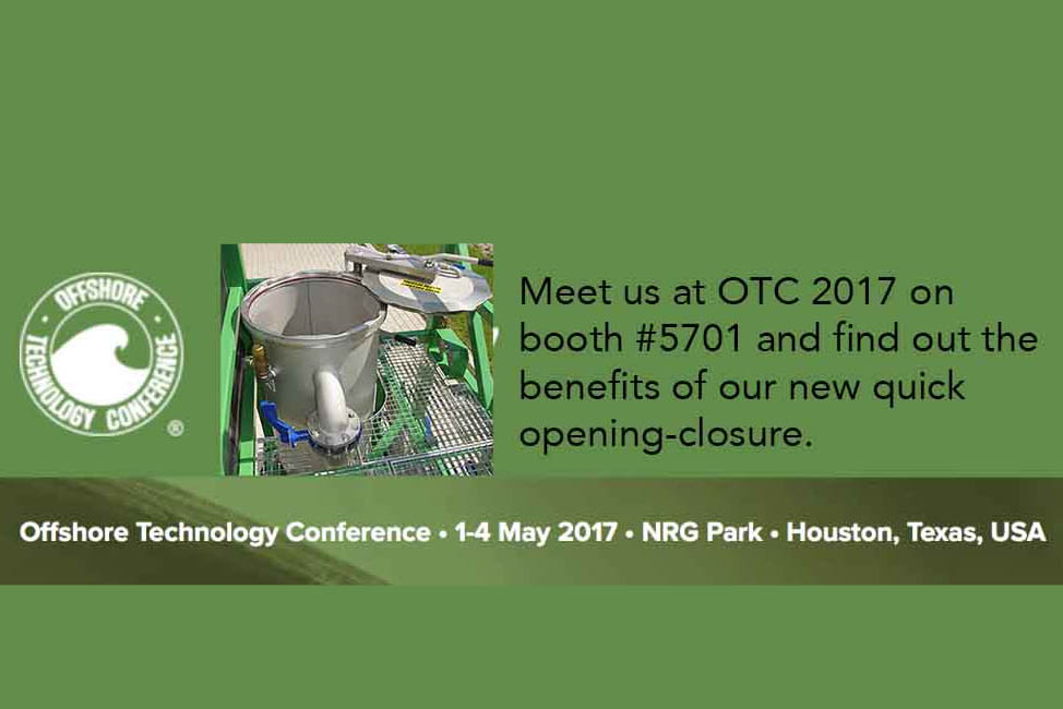 See and feel the new dual vessel filter unit in real life @ OTC 2017 in Houston.