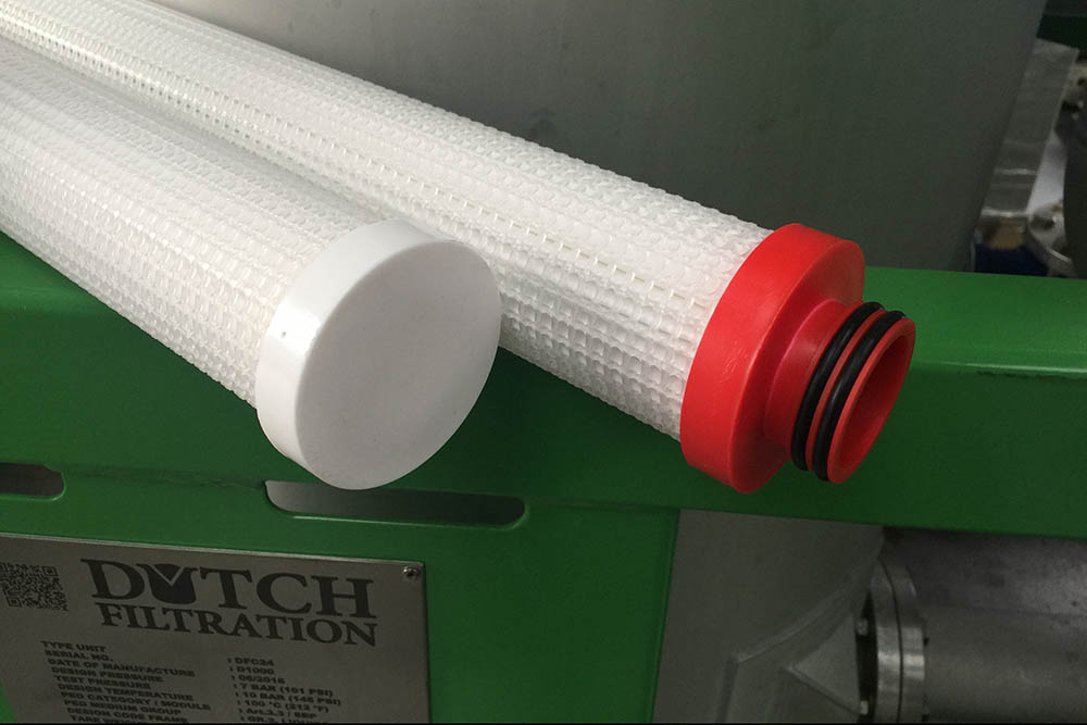 Absolutely the best absolute filter cartridge for well completion fluids.