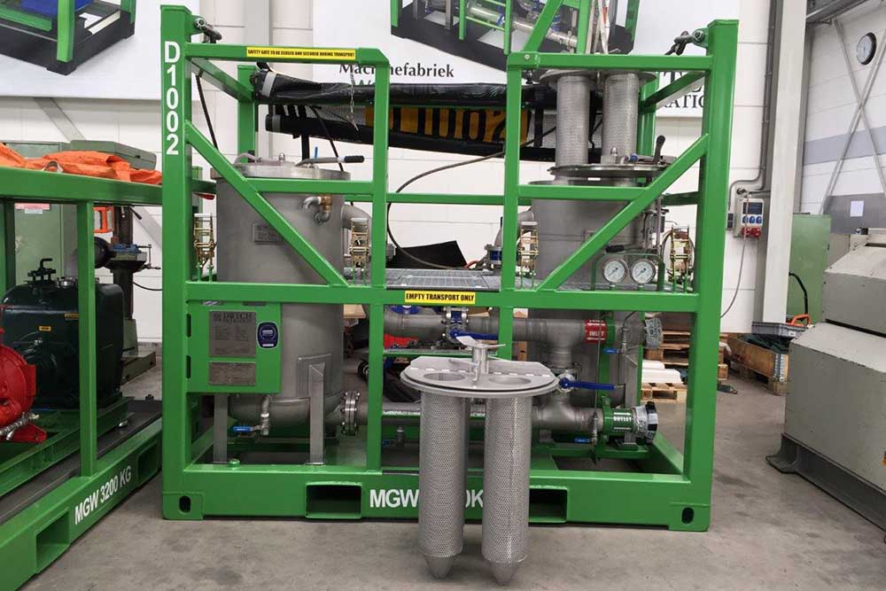 dual vessel combi filter unit dutch filtration