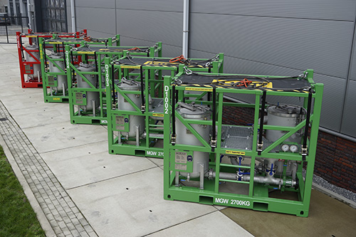 Dutch Filtration rental filter skids are build to the latest standards