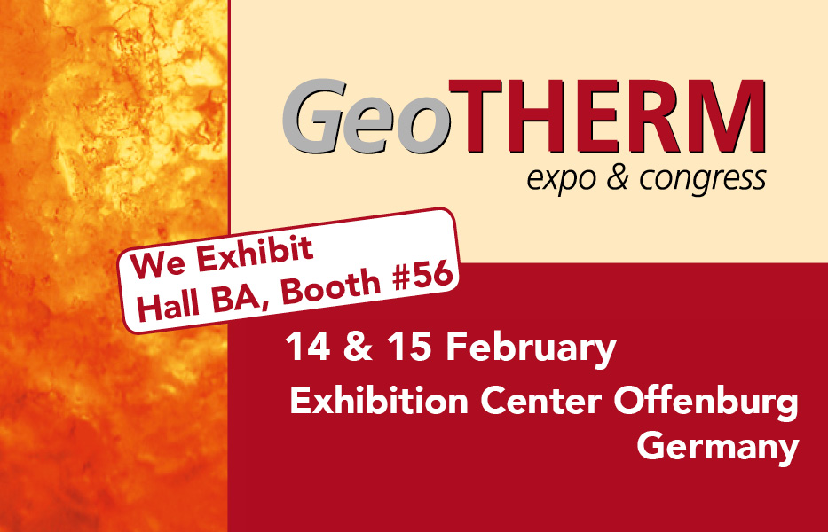 Dutch Filtration will attend GeoTHERM Offenburg