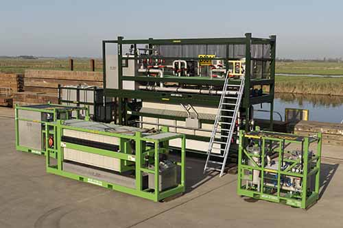 Largest offshore filter press