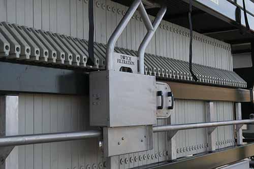 semi-automatic plates shifter filter press